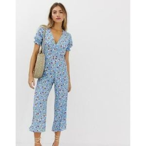 NWT FAITHFULL THE BRAND Mallory Floral Jumpsuit